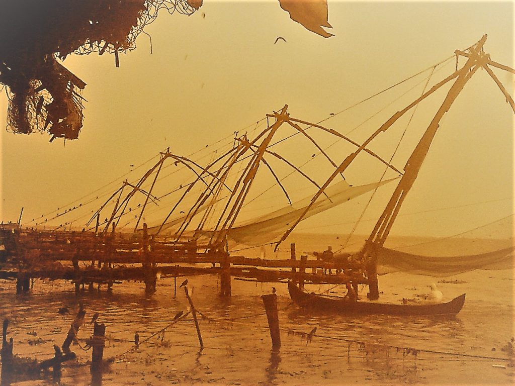 Chinese Fishing Nets, Ernakulam, Fort Kochi, Kerala