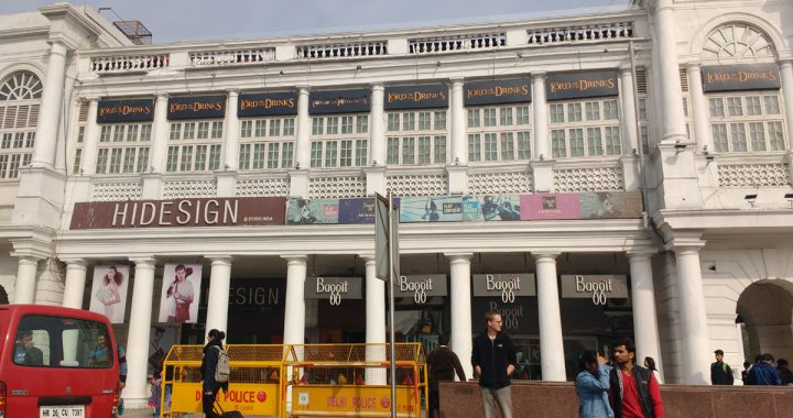 Connaught Place Rajiv Chowk, Delhi