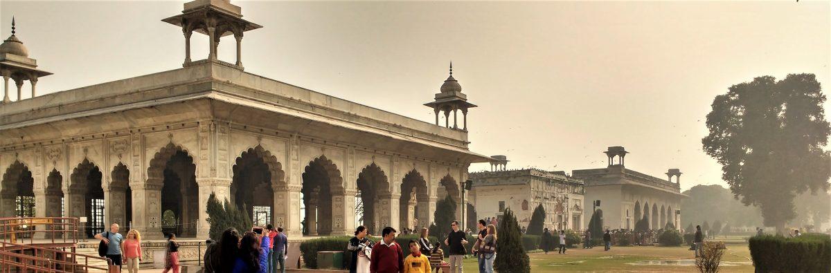 Red fort -  The  Rang Mahal (also called Shish Mahal), Khas Mahal and Shah Mahal (or Diwan-e-Khas)